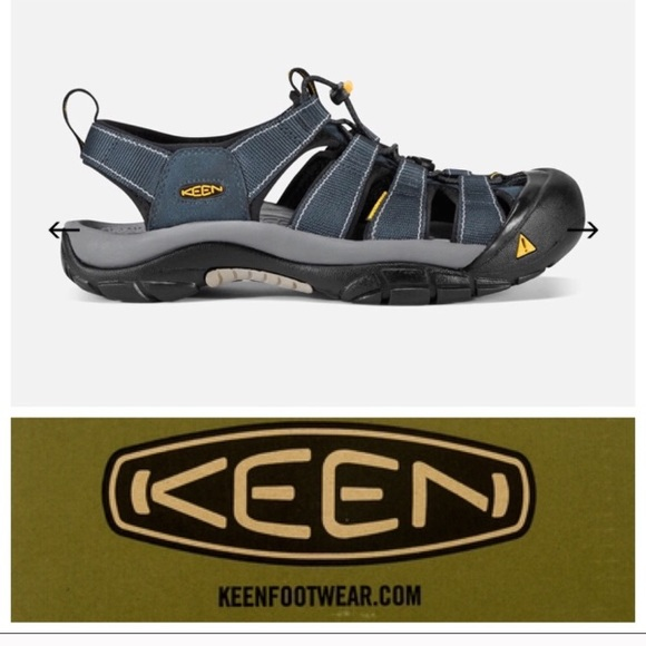 best website 74656 08bc4 NWOB Keen sandals, size 40 (7.5M/9.5W) NWT